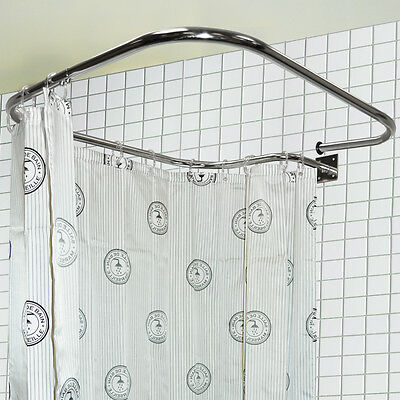 Shower Rail And Curtain Rings