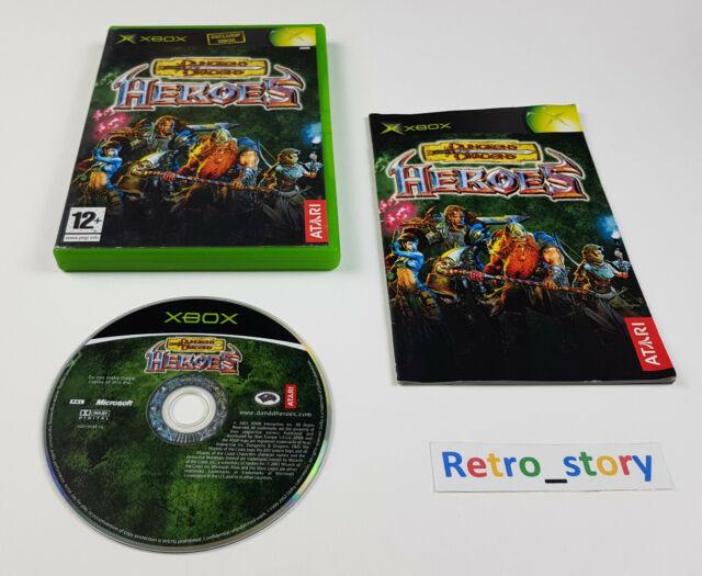 Microsoft Xbox - Dungeons & Dragons Heroes - PAL