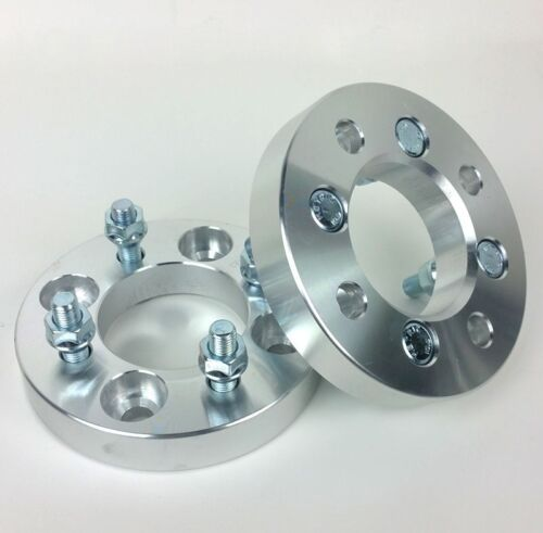 2 Pcs Conversion Wheel Spacers 4X108 Hub To 4X100 Wheel12X1.525MM 1 Inch