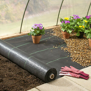 3-4-6X250ft-3-2Oz-m-Woven-Ground-Cover-Weed-Control-Fabric-Landscape-Garden