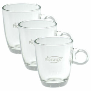 Pickwick-Tee-Glas-Teetasse-Tasse-Tee-Glas-small-200-ml-3er-Pack