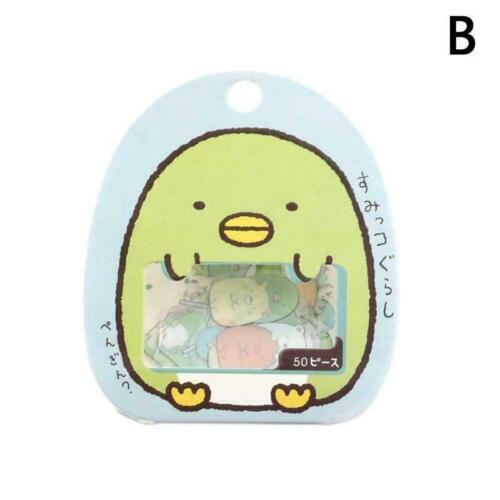 50Pcs//Bag DIY Cartoon Cute Kawaii PVC Stationery Sticker Cat Sticker Lovely N0Z7