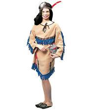 Girls Native American Indian Princess Child Costume Size Small 4-6