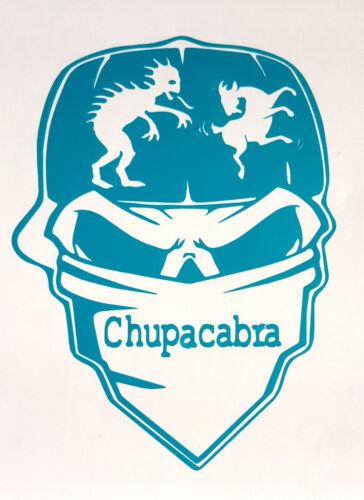 CHUPACABRA BANDANA CAP SKULL VINYL Decals Sticker BUY 2 GET 1 FREE Automatically
