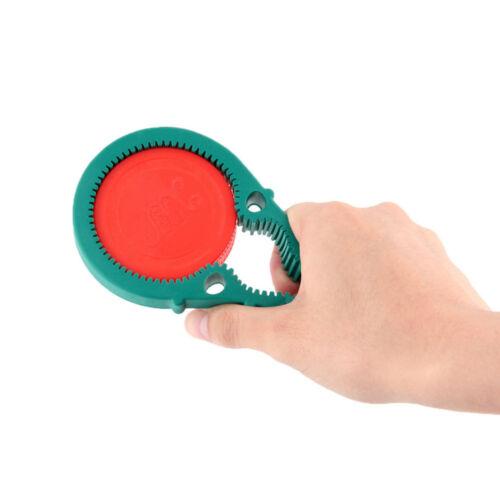 Jar Opener Multi Purpose Jar Lids Bottle Cap Grip Twister Rubber Opener Tool CN