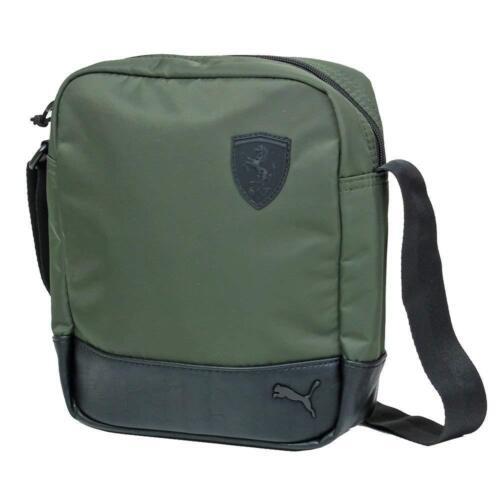 PUMA Ferrari Lifestyle portable bag 2018 Charcoal Green