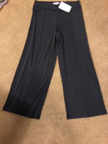 CAbi Lounge  Crop Pant Navy Blue X-Small Stretch NWT