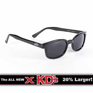 e99d55d75a X-KD s Black Frame Dark Grey Lens Sunglasses XKD Motorcycle Riding ...