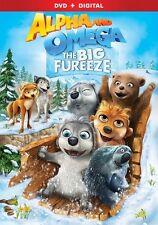 Alpha and Omega The Big Fureeze DVD 2016 UPC 031398252948