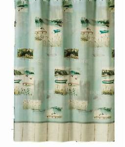 Image Is Loading Saturday Knight Lake Retreat Fabric Shower Curtain Green