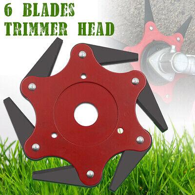 Outdoor Trimmer Head 5 Steel Blades Razors 65Mn Lawn Mower Grass Weed Cutter UK