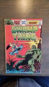 Swamp-Thing-1973-21-VF-DC-Comics-Bernie-Wrightson-Wein-HTF