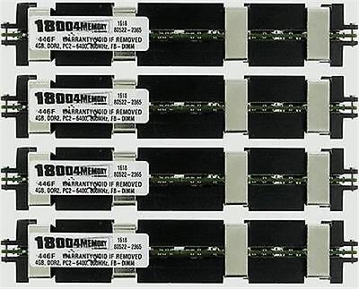 Apple Mac Pro Memory 16GB 800MHz DDR2 FB-DIMM ECC 4x4GB Kit MB194G/A