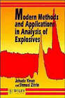 Modern Methods and Applications in Analysis of Explosives by Jehuda Yinon, Shmuel Zitrin (Paperback, 1996)