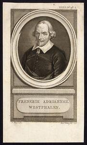 Antique-Print-PORTRAIT-FREDERIK-WESTPHALEN-Wagenaar-Vinkeles-Buys-1790