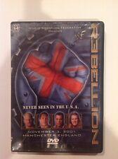 WWF - Rebellion (DVD, 2002) Authentic