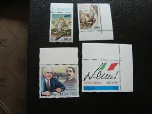 Italy-Stamps-Yvert-Tellier-N-1924-1925-1930-1931-N-MNH-A41
