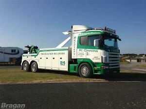 To-Fit-Scania-4-Series-Sleeper-Cab-Roof-Light-Bar-Spots-Flush-LEDs-Beacons