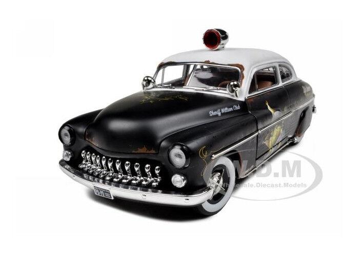 más descuento 1949 1949 1949 Mercury Rat Rod policía 1of700 hecho 1 18 Auto Modelo por Autoworld amm961  conveniente