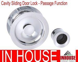 Cavity Sliding door pull handle flush pull Passage function  RD CP