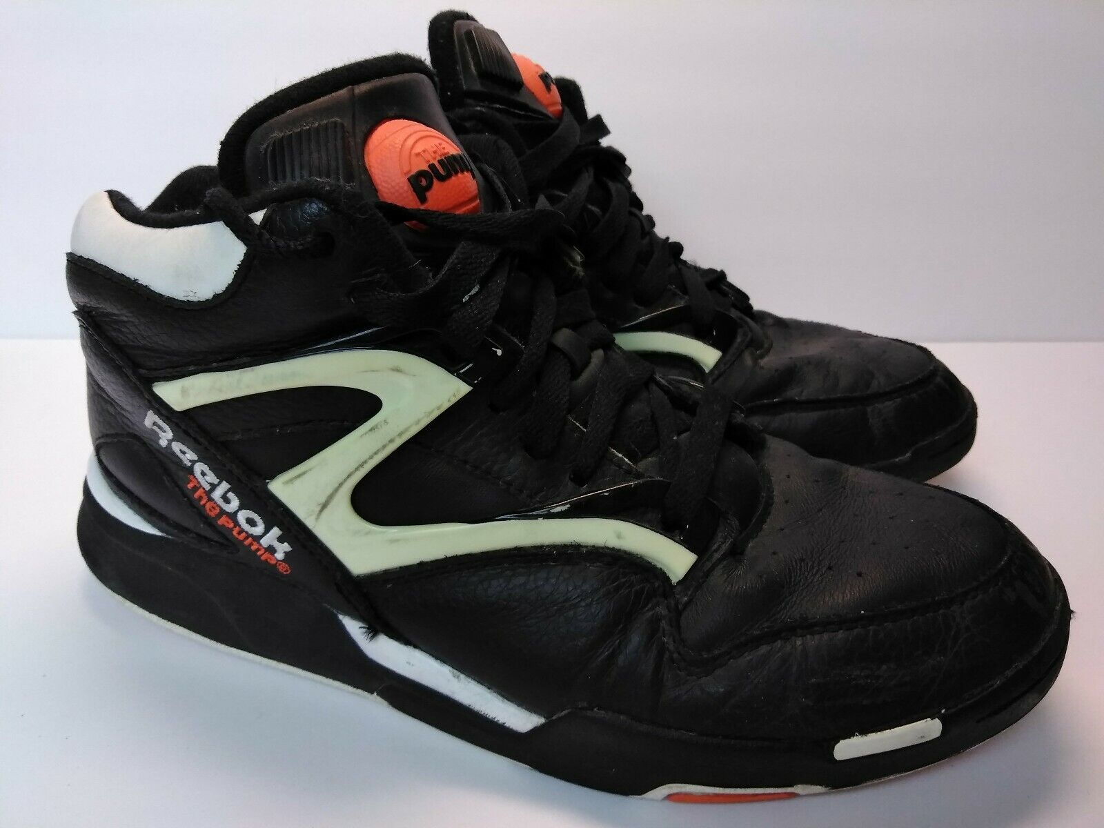 Reebok Pump Omni Lite Retro Dee Brown Black Orange White Style J15298 Size 11