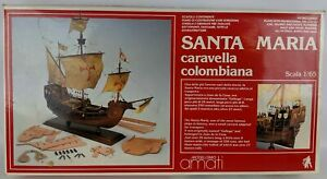 Amati Santa Maria Wooden Tall Ship Model Kit