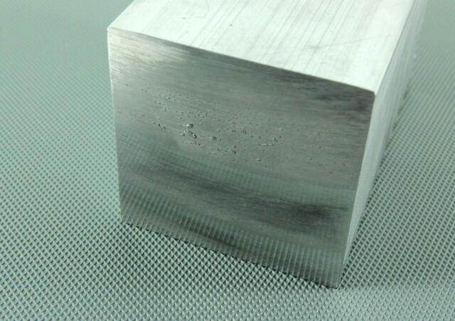 Aluminium Solid Square Bar 14 Pre Cut Sizes and 8 Pre Cut Lengths