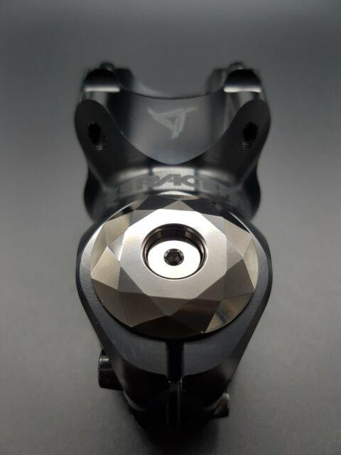 "1 1//8/"" Ahead Alu inkl Acor Vorbau NOS silber Deckel+Klemme NEU 120mm 5°"