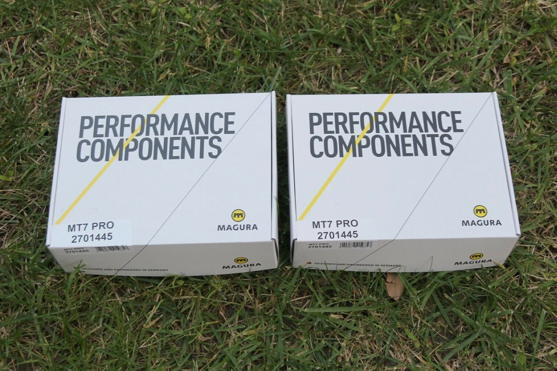 BRAND NEW - MAGURA MT7 Pro Disc Brakes Set    FRONT + REAR