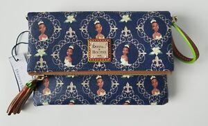 3bf7c33827b NWT Disney Dooney   Bourke Princess Tiana Fold Over Crossbody Purse ...