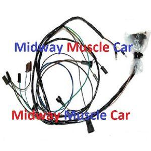 engine wiring harness V8 67 Pontiac Firebird 326 400 | eBay | Pontiac Wiring Harness Ebay |  | eBay
