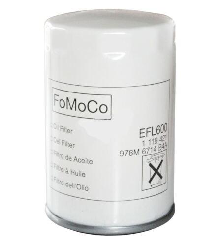 FORD KA  1.3 i Hatchback 08.02 - 11.08 70HP Oil Filter 1119421 EFL600