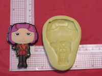 Hero Character Silicone Push Mold 180 Candy Cookie Cake Resin Clay Fondant