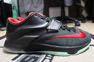 3aa68247221 New Nike KD 7 VII NikeiD ID Size 12 Solar Yeezy Glow in the Dark