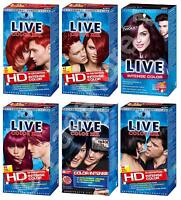 Schwarzkopf Live Color XXL Hair Color/Dye - 6 Shades to choose