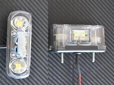 2x LED anteriore Targa Luci Camion LKW per DAF MAN SCANIA Renault