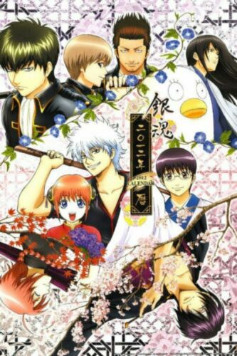 Poster Air GINTAMA Sakata Gintok Japan Anime Boy Room Club Wall Cloth Print 06