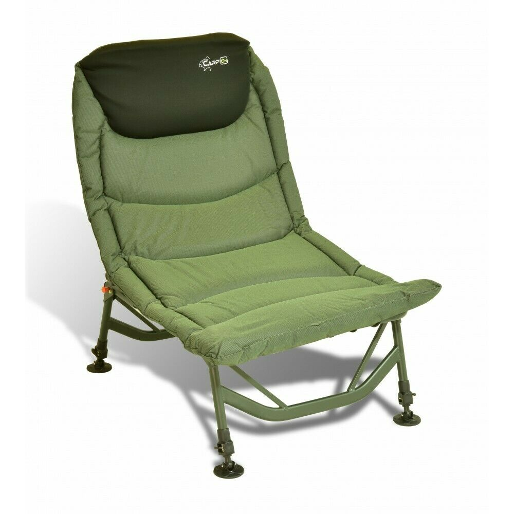 Carpon Big One Silla Carpas de Pesca Capacidad hasta 130kg Camping