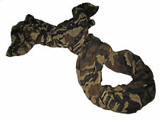 Polo Ralph Lauren Black Camo Camouflage Gauze Linen Neck Scarf