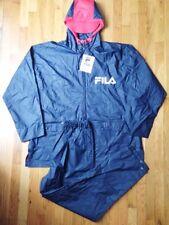 vintage FILA rain slick suit set mens size XL