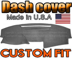 Fits Toyota Camry 2007-2011 Dashtex Dash Board Cover Charcoal Grey