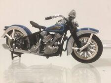 Franklin Mint 1936 Knucklehead Harley Davidson Motorcycle