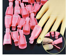 20X New Acrylic Manicure Nail Art Soak Off UV Gel Polish Remover Wrap Clip 996