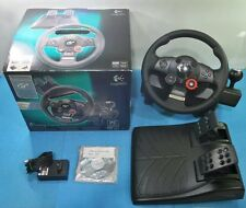 LOGITECH DRIVING FORCE GT VOLANTE Y PEDALES PLAYSTATION 3 PS3 PC USB CON CAJA
