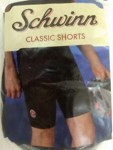 Mens-XXL-2XL-Schwinn-Classic-Bike-Shorts-Black-Padded-Cycling-Spandex-Bicycle
