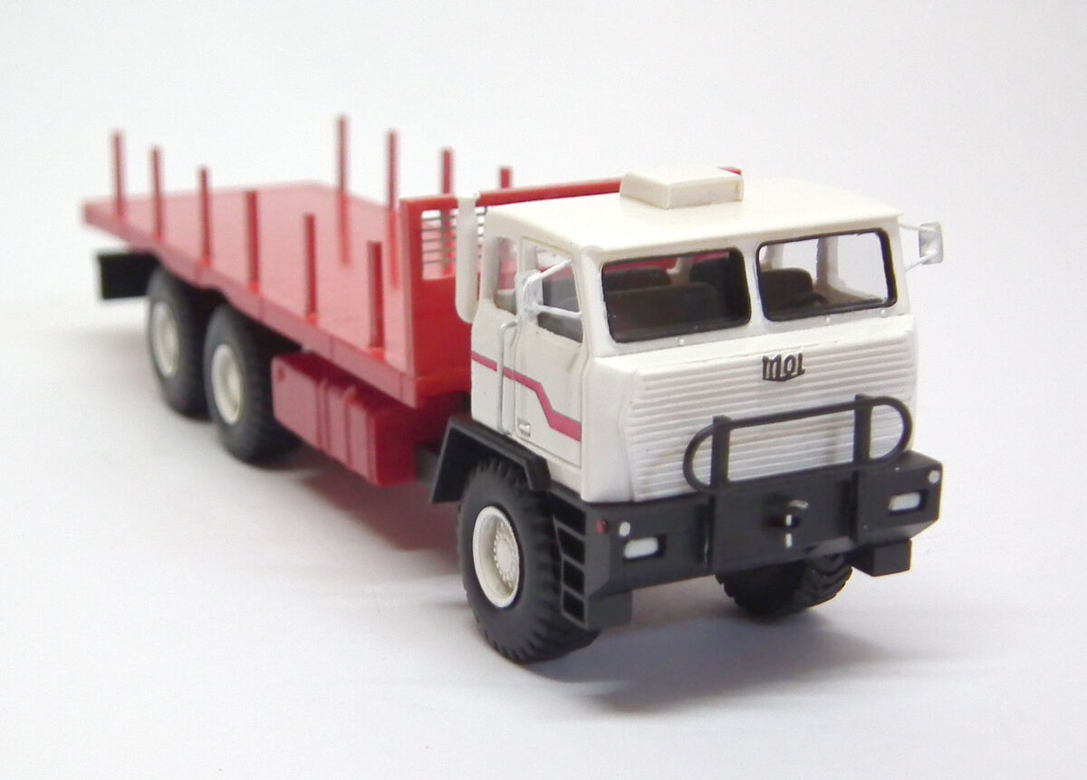 HO 1 87 Mol F6566 6x6 Oilfield Camion-prêts Résine Modèle par FanKit Models