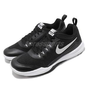 best website 2f807 fba0f Image is loading Nike-Legend-Trainer-Black-Silver-White-Men-Cross-