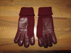 Damen-accessoires Handschuhe & Fäustlinge Handschuhe Leder Und Baumwolle Modische Muster