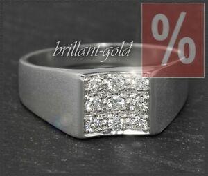 Diamant-Brillant-585-Gold-Ring-mit-0-40ct-Brillianten-in-River-D-amp-Si-Neu