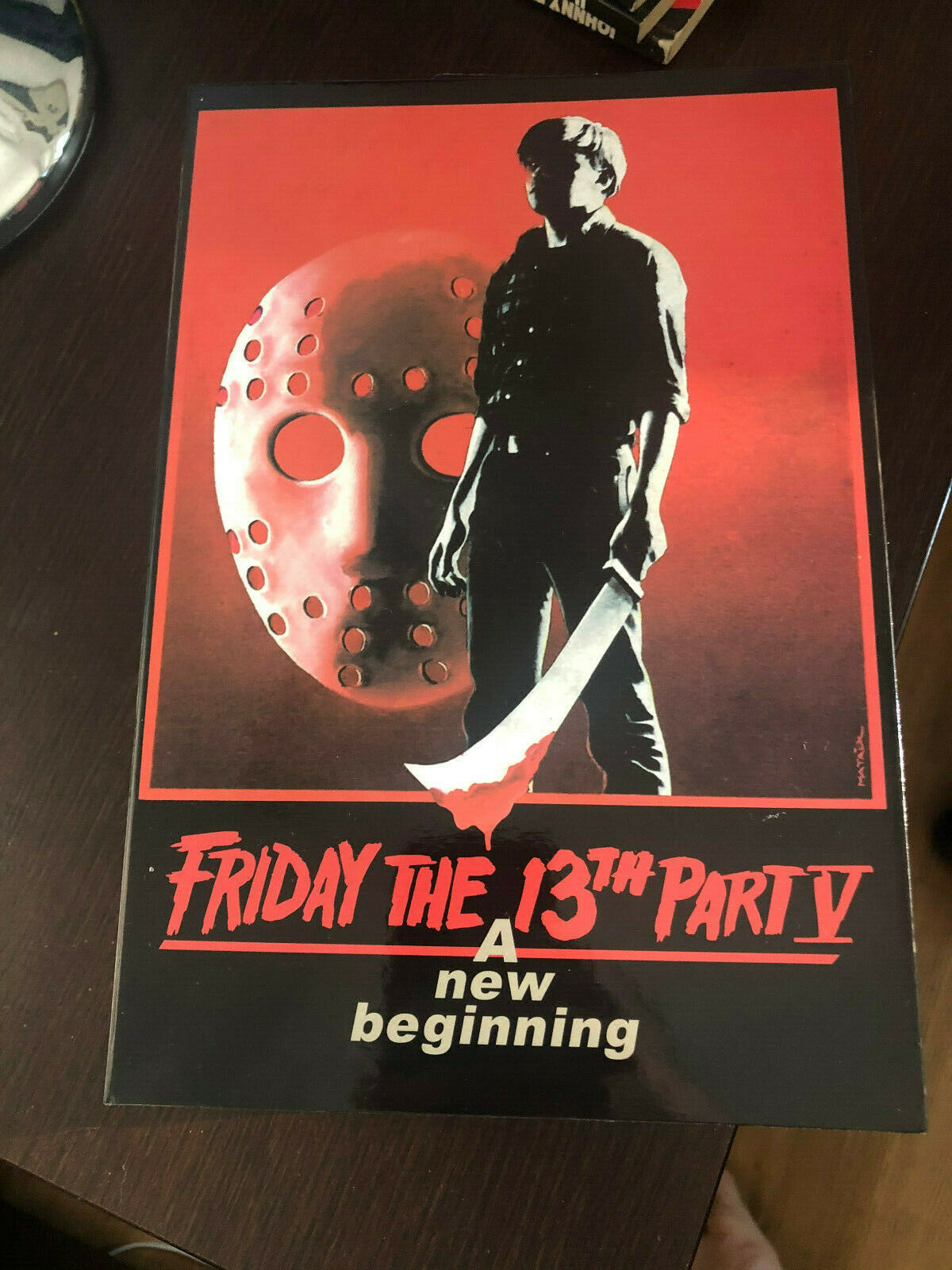 NECA FRIDAY 13TH JASON VOORHEES ULTIMATE PART 5 A NEW BEGINNING